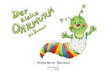 """Der kleine Ohrwurm zu Besuch mit CD und Kunstpostkarte """"Alles Gute!"""""""
