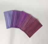 Stoffmaske violett