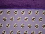 Schlauch-Schal Fuchs auf lila