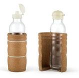 ND - THANK YOU Flasche / 0,7 L / DUO mit Bio-Kunststoff Flip-Top Deckel