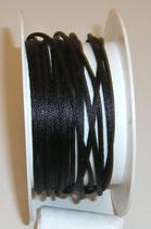 Coda di Topo Satin 2mm Nero