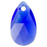 Pear Pendant Swarovski (6106) 16mm Majestic Blue