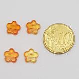 Fiore 9mm Arancia Plastica