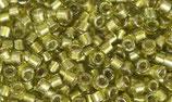 Delica 11/0   (DB908) Verde Oliva Chiaro Sparkling Inside Color