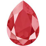 Cabochon Goccia (4320)Swarovski  18x13mm Shiny Lacquer Royal Red