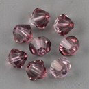 Swarovski Bead 5301/5328 - 4mm Bicono Antique Pink
