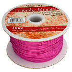 Coda di Topo in Nylon 1mm Rosa