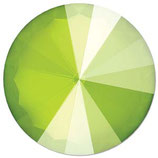 Rivoli Swarovski (1122) 14mm Shiny Lacquer Lime