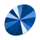 Cabochon Ovale (4122) Swarovski  13,5x18mm Shiny Lacquer Royal Blue