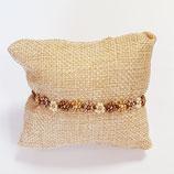Kit Miyuki Flora Necklace / Bracelet Gold-Cream-Bronze