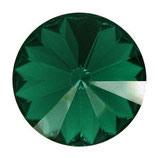 Rivoli Swarovski (1122) 14mm Emerald