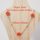 Kit Wire Collana Bloom versione Arancio