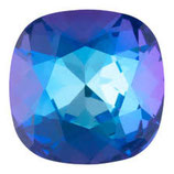 Cabochon Quadrato FB Swarovski (4470) 12mm Delite Royal Blue