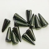 Spike Beads mis.7x17mm Canna di Fucile