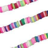 Heishi Rondelle 4mm Multicolore