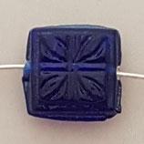 Quadrato  14mm Blu