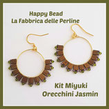 Kit Miyuki Jasmin Earrings Bronze