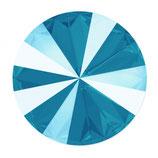 Rivoli Swarovski (1122) 14mm Shiny Lacquer Azure Blue