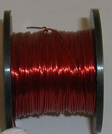 Filo Metallo Rosso 0,40mm