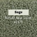 Round Rocailles 11/0 col.2375 Sage Verde Salvia