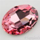 Cabochon Ovale (4127) Swarovski  30x22mm Light Rose