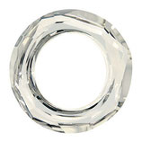 Cosmic Ring Swarovski (4139) 14mm Crystal Silver Shade