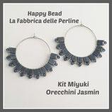 Kit Miyuki Jasmin Earrings Grey