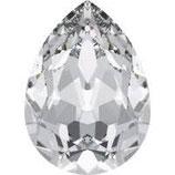 Cabochon Goccia (4320) Swarovski  14x10mm  Crystal