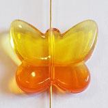 Farfalla Grande 24x28mm  Arancio  in Plexiglass