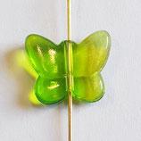 Farfalla Piccola 12x14mm Verde Lime  in Plexiglass