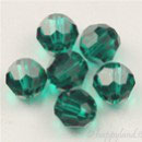 Swarovski Bead 5000 - 6 mm Sfera Emerald