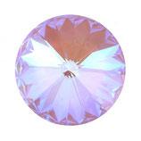 Rivoli Swarovski (1122) 12mm Crystal Lavender DeLite
