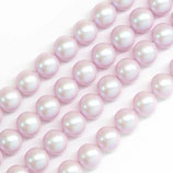 Round Crystal Pearl - 5810 - 6mm colore Dreamy Rosa Irridescente