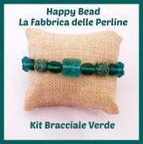 Kit Bracciale Base Cavetto Verde