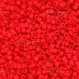 Delica 11/0 (DB757) Rosso Light Siam Matte Opaque
