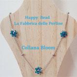 Kit Wire Collana Bloom versione Azzurro