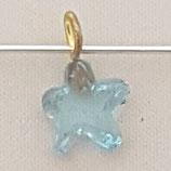 Ciondolo Stella 8mm Azzurro