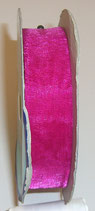 Nastro Organza 20mm color Fucsia