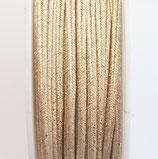 Cordoncino Soutache Misto Metallic Oro Aurum