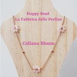 Kit Wire Collana Bloom versione Rosa Opaco