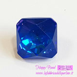 Cabochon Kaleidoscope Square (4499)Swarovski  14mm Delite Royal Blu