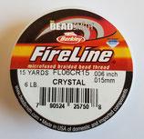 Mini Fireline Thread Trasparent 0.006in 15yds