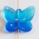 Farfalla Grande 24x28mm  Azzurro  in Plexiglass