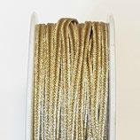 Cordoncino Soutache Metalizzato Oro Chiaro