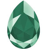 Cabochon Goccia (4320)Swarovski  18x13mm Shiny Lacquer Royal Green