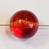 Sfera Grande 24mm Rosso in Plexiglass