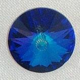Rivoli Swarovski (1122) 12mm Bermuda Blu