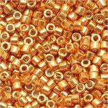 Delica 11/0 (DB410) Oro Giallo Metallico Galvanize Dyed