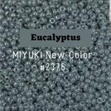 Round Rocailles 11/0 col.2376 Eucalyptus Azzurro