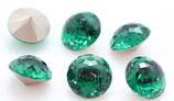 Cabochon Dome Stone  (1400) Swarovski  14mm Emerald